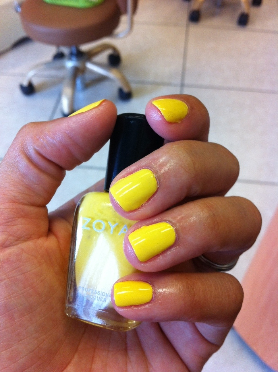 The color is Pippa by Zoya. I am still searching for a sunnier yellow